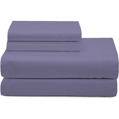 Premium 320 Thread Count Sateen Sheet Set Color: Lavender, Size: Queen