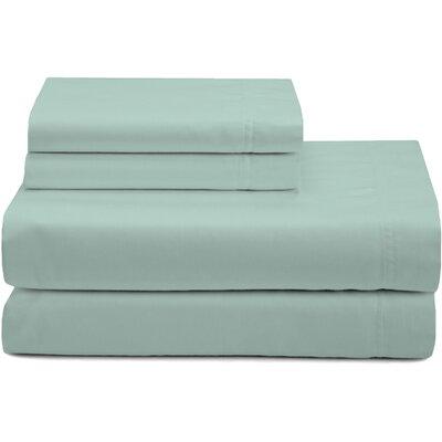 Premium 320 Thread Count Sateen Sheet Set Color: Sage, Size: California King