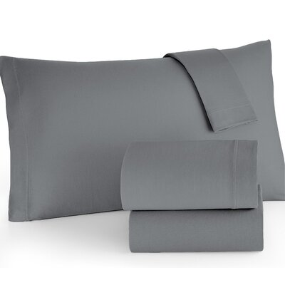Easy Care Jersey Sheet Set Color: Gray