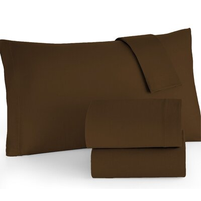 Sheet Set Color: Chocolate, Size: Twin