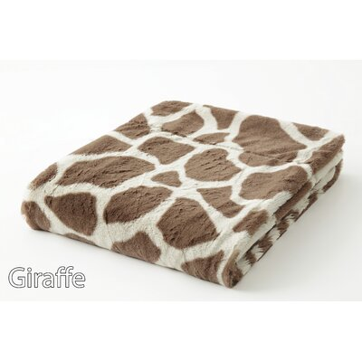 Safari Faux Fur Throw