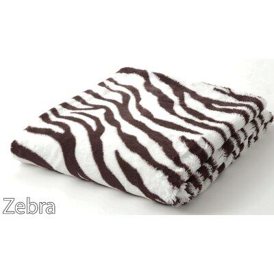 Safari Faux Fur Throw