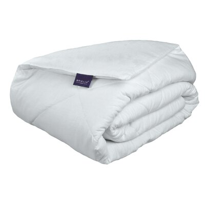 Cotton Flannel Down Alternative Comforter Color: White, Size: Full/Queen
