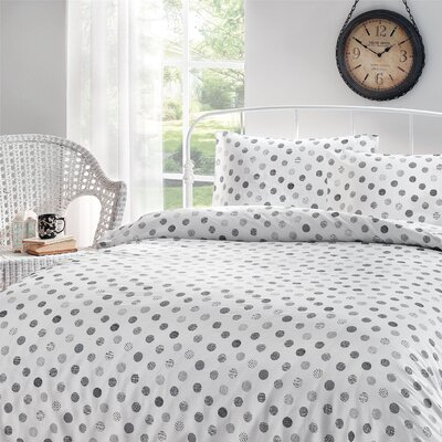 Circlets Printed Sheet Set Size: Queen