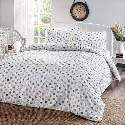 Circlets 3 Piece Duvet Cover Set Size: King