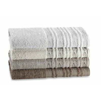 Rayon from Bamboo Tree Bark Hand Towel Color: Ivory