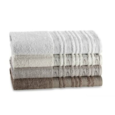 Rayon from Bamboo Tree Bark Bath Towel Color: Gray