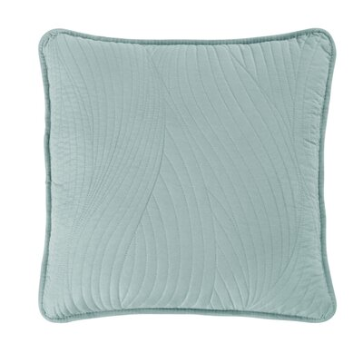 Stream Toss Throw Pillow Color: Seafoam