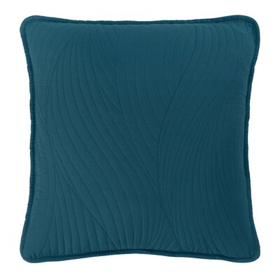 Stream Toss Throw Pillow Color: Teal