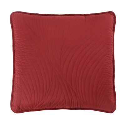 Stream Toss Throw Pillow Color: Red