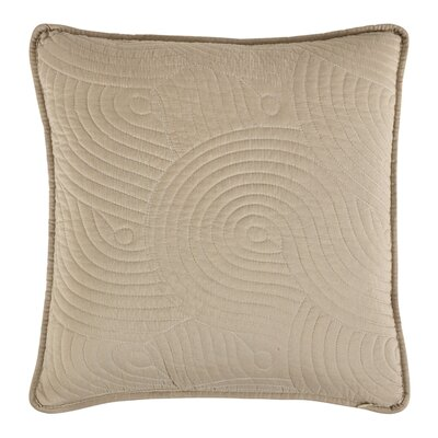 Stream Toss Throw Pillow Color: Ivory