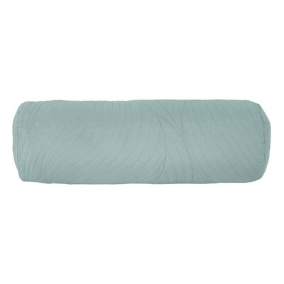Stream 100% Cotton Bolster Pillow Color: Seafoam