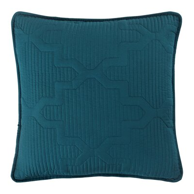Casablanca Reversible Square Throw Pillow Color: Spice/Teal