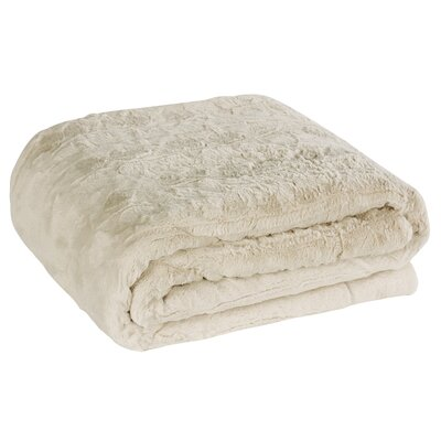 Nesting Faux Fur Body Pillow Case Color: Snow Goose