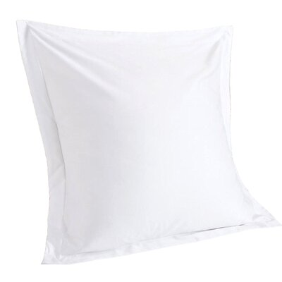 Stream Solid Euro Sham Color: White
