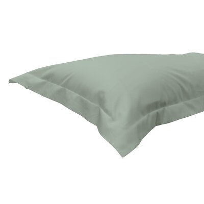 630 Thread Count Egyptian-Quality Cotton Sham Color: Sage, Size: King