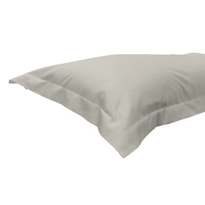 630 Thread Count Egyptian-Quality Cotton Sham Color: Ivory, Size: Standard/Twin