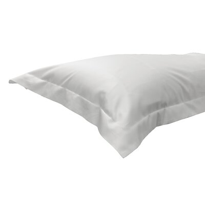 630 Thread Count Egyptian-Quality Cotton Sham Color: White, Size: Standard/Twin