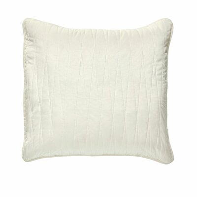Premium Heavy Velvet Pillow Cover Color: Off White