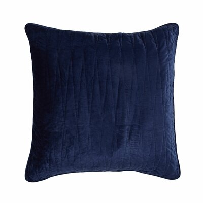Premium Heavy Velvet Pillow Cover Color: Navy