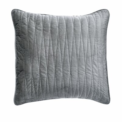 Premium Heavy Velvet Pillow Cover Color: Gray