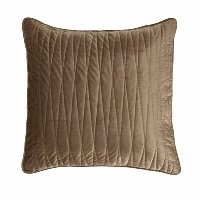 Premium Heavy Velvet Pillow Cover Color: Khaki