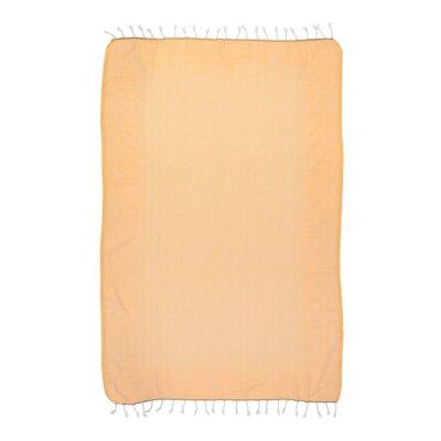 Fashion Bath Sheet Color: Saffron