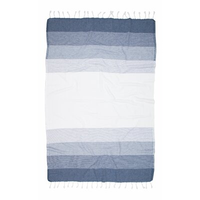 Shades Fashion Bath Sheet Color: Indigo
