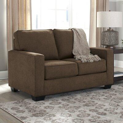 Zeb Twin Sleeper Sofa Upholstery: Espresso