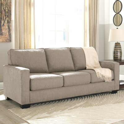 Zeb Queen Sleeper Sofa Upholstery: Quartz