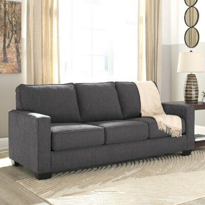 Zeb Queen Sleeper Sofa Upholstery: Charcoal