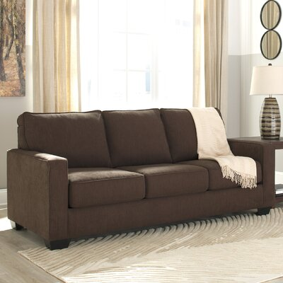 Zeb Queen Sleeper Sofa Upholstery: Espresso