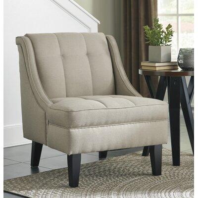 Calicho Armchair Upholstery: Ecru