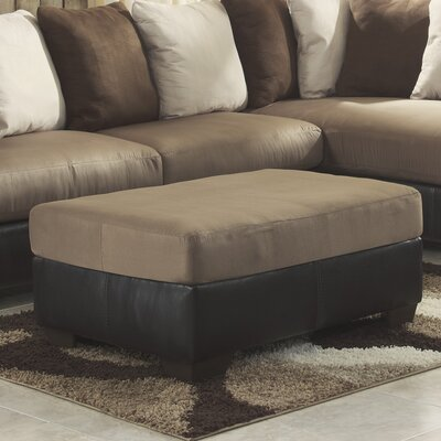 Larwill Ottoman Upholstery: Mocha