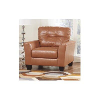 Paulie DuraBlend Club Chair Color: Orange