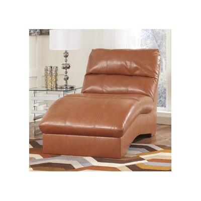 Paulie DuraBlend Chaise Lounge Upholstery: Orange