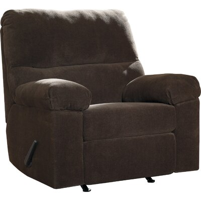 Zorah Rocker Recliner Upholstery: Chocolate