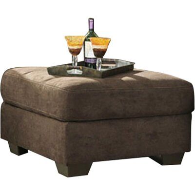Karri Cocktail Ottoman Upholstery: Chocolate