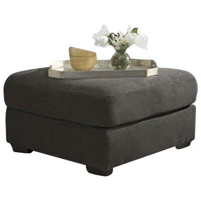 Karri Oversized Ottoman Upholstery: Steel