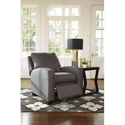 Ayanna Recliner Upholstery: Gray