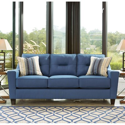 Forsan Sleeper Sofa Upholstery: Blue