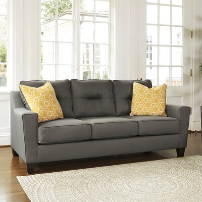 Huebert Sleeper Sofa Upholstery: Gray