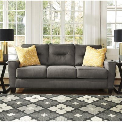 Huebert Sofa Upholstery: Gray