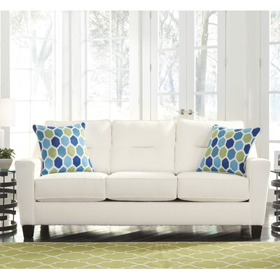 Huebert Sofa Upholstery: White
