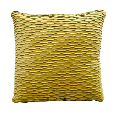 Ripple Throw Pillow Color: Kiwi / Green