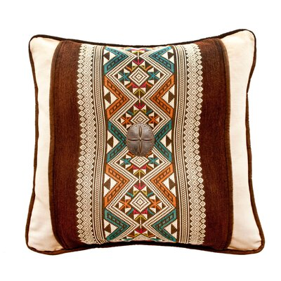 Navarro and Panama Linen Throw Pillow