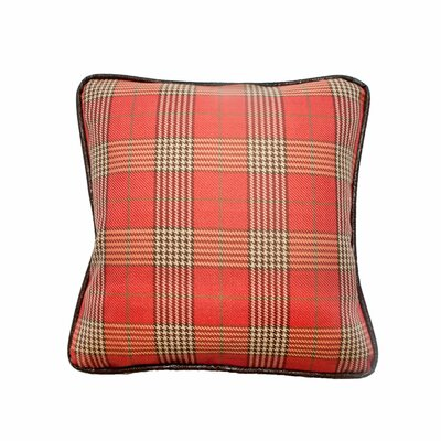 Newbury Throw Pillow Color: Cardinal