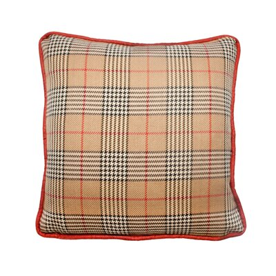 Newbury Throw Pillow Color: Walnut