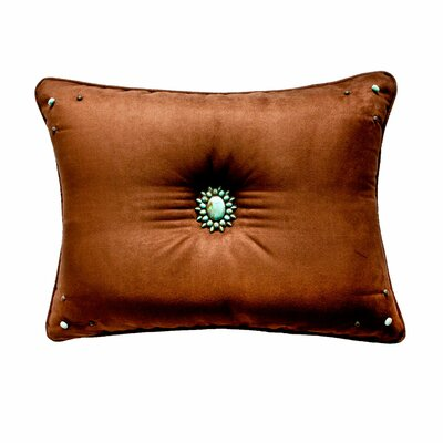 Kensington Lumbar Pillow Size: 20 H x 26 W, Color: Teal