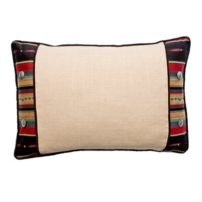 Ventura 3-Part Sham Size: Standard, Color: Red